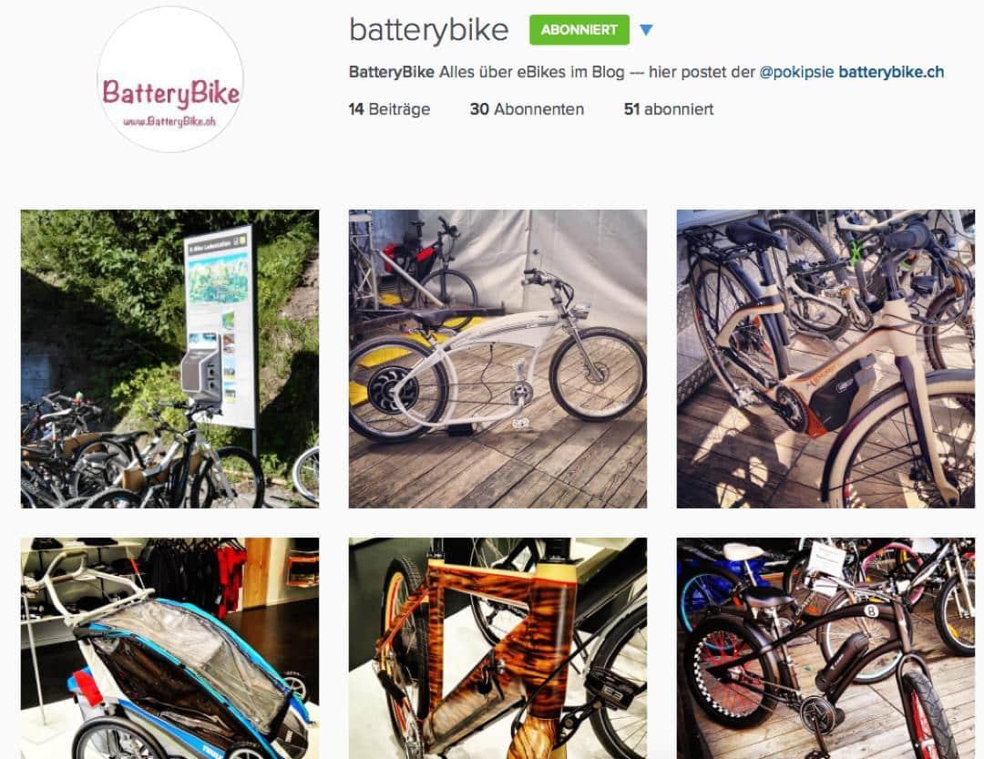 BatteryBike auf Instagram
